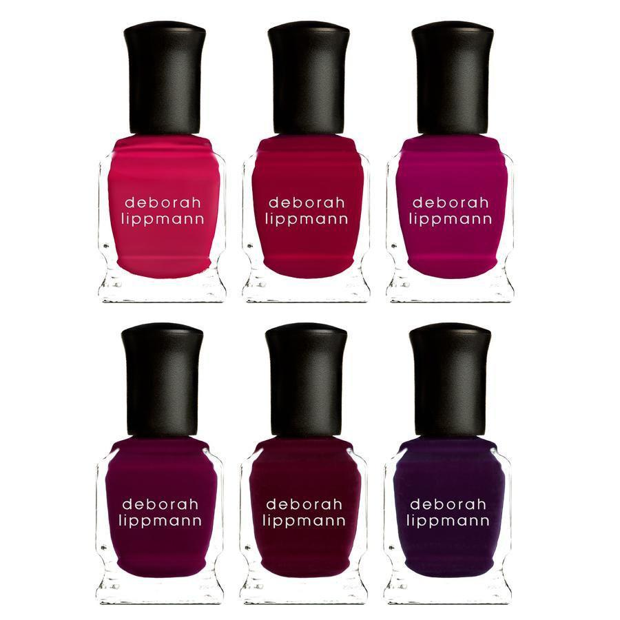 """<p>Deborah Lippmann's latest collection is all about berries, and we are so here for it. The Very Berry lineup includes six vibrant hues aptly named Strawberry Fields Forever, Cranberry Kiss, Raspberry Dream, Mulberry's Dream, Cherries Jubilee, and our personal favorite, Boys N Berries, a stunning deep-purple shade.</p> <p><strong>$36</strong> (<a href=""""https://shop-links.co/1715496512484299496"""" rel=""""nofollow noopener"""" target=""""_blank"""" data-ylk=""""slk:Shop Now"""" class=""""link rapid-noclick-resp"""">Shop Now</a>)</p>"""