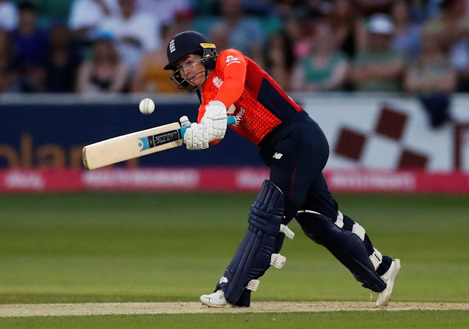 England's Tammy Beaumont in action during the T20 World Cup (Action Images via Reuters/Peter Cziborra)