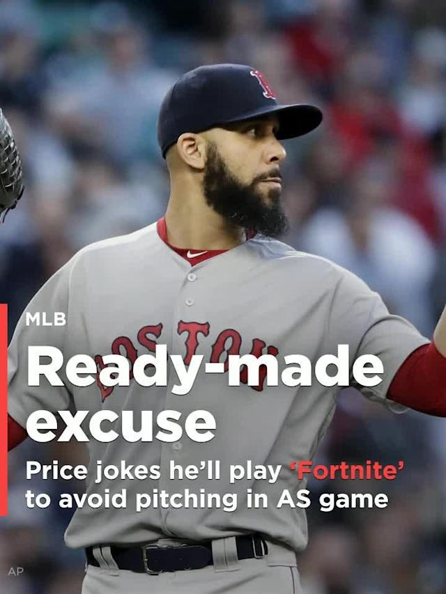 Some speculated that video games were the crux of David Price's wrist woes as he and some teammates are known to be avid 'Fortnite' players.