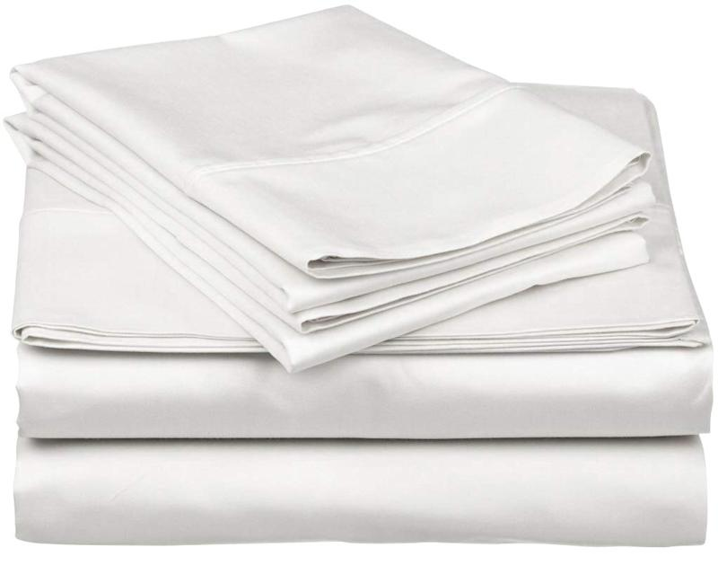 Thread Spread True Luxury 1000-Thread-Count 100% Egyptian Cotton Bed Sheets Set. (Photo: Amazon)