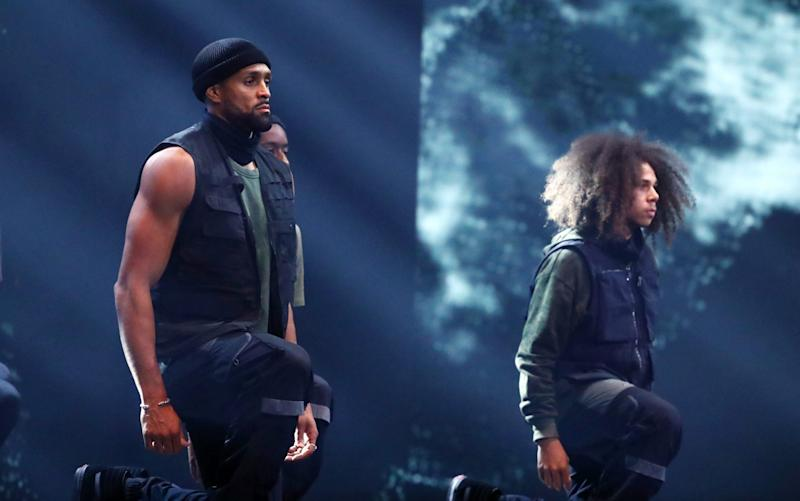 Members of dance group Diversity perform on Britain's Got Talent - ITV