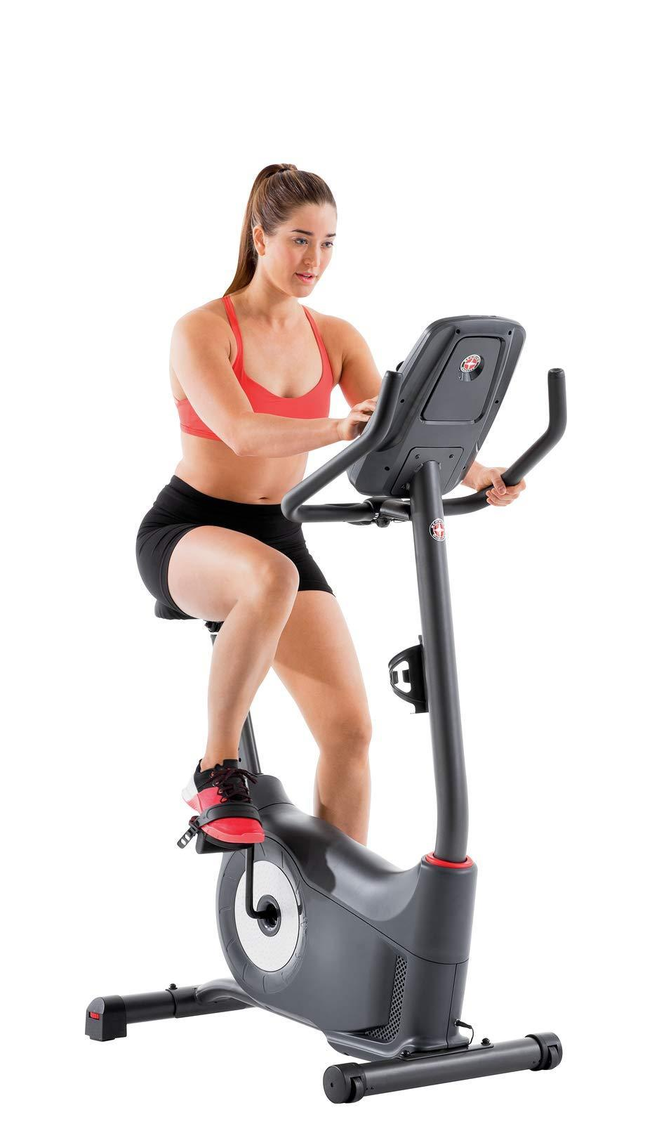 """<br><br><strong>Schwinn</strong> Upright Bike Series, $, available at <a href=""""https://amzn.to/2H1SIev"""" rel=""""nofollow noopener"""" target=""""_blank"""" data-ylk=""""slk:Amazon"""" class=""""link rapid-noclick-resp"""">Amazon</a>"""