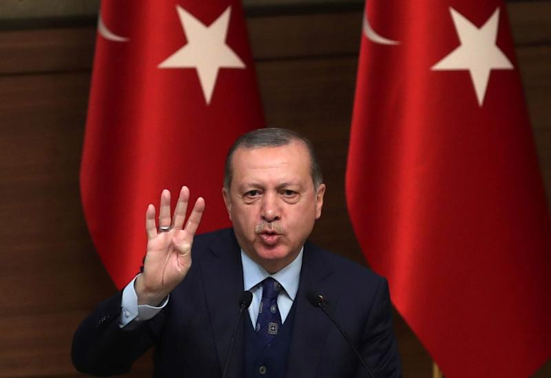 Turkish President Recep Tayyip Erdogan has accused the United States and Israel of meddling in Iran after Turkey's neighbour was gripped by several days of deadly unrest