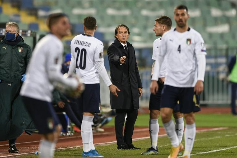 Italy's coach Roberto Mancini brought in a new crop of promising players while keeping faith with some of the old stalwarts