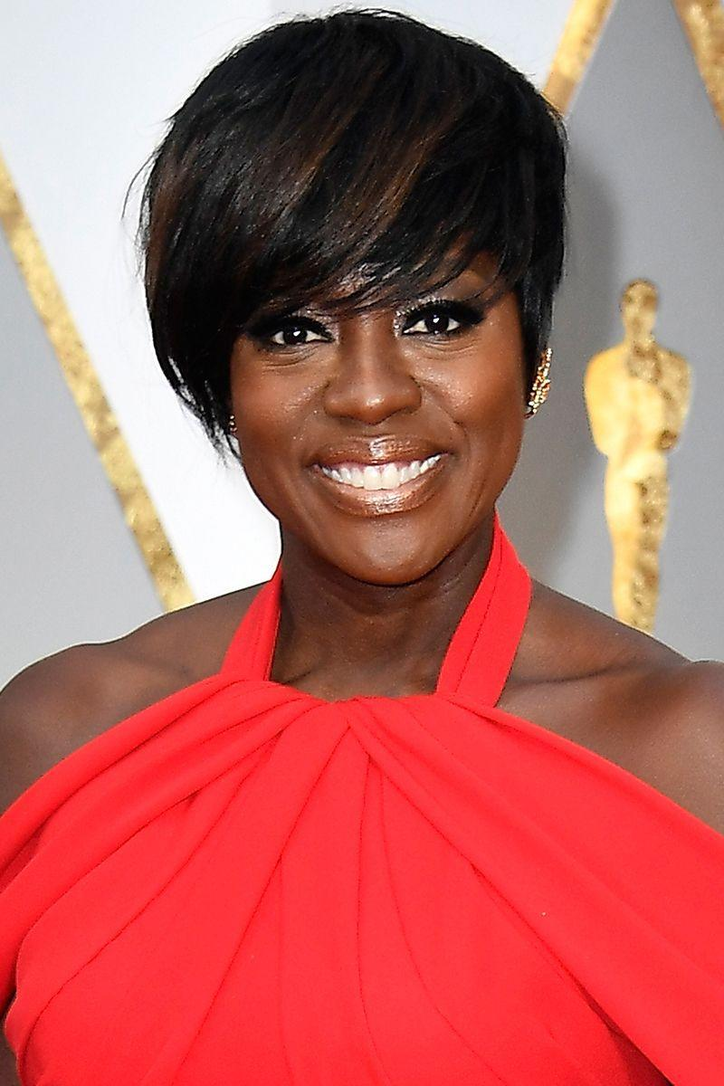 <p>Viola Davis can do no wrong and her pixie cut proves it. Worn with long side-swept bangs and light brown highlights, this is a classic pixie cut to add to your mood board. </p>