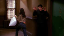 <p> Ross is at his best when being equal parts neurotic and goofy, brilliantly illustrated here by his commitment to &#x2018;Unagi&#x2019; &#x2013; &#x201C;a state of total awareness&#x201D; &#x2013; which is subsequently shattered when Phoebe and Rachel burst out from behind his living room curtains. That&#x2019;s one of three memorable storylines; elsewhere, Joey employs a fictitious twin who looks nothing like him, and Chandler gives Monica a mixtape found in his closet for Valentine&#x2019;s Day. The perfect romantic gesture, until the gap between songs is punctuated by the voice of&#x2026; Janice. </p> <p> <strong>Best line:</strong>&#xA0;Rachel: Ahhhh&#x2026; salmon skin roll. </p>