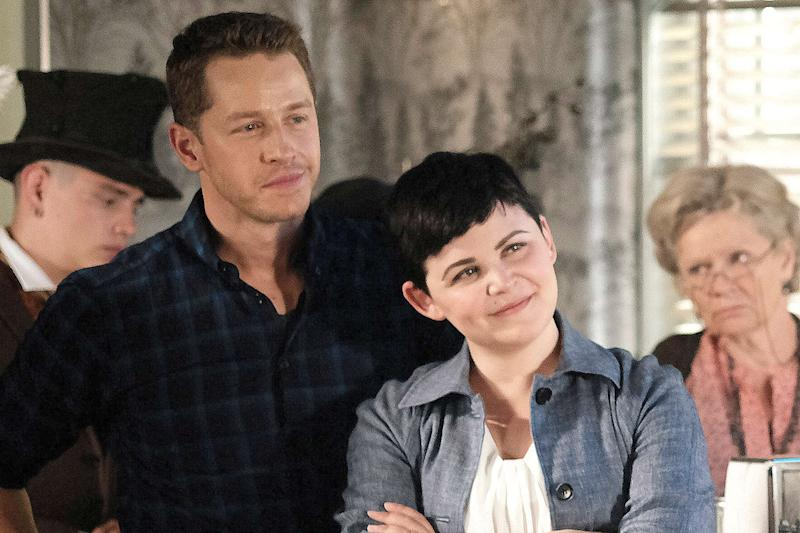 'Once Upon a Time' stars on Snow and Charming twist