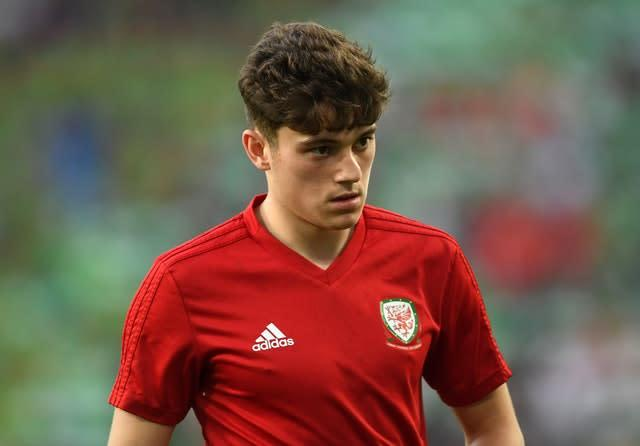 Manchester United winger Daniel James was an integral part of Wales' Euro 2020 qualifying campaign (Joe Giddens/PA)