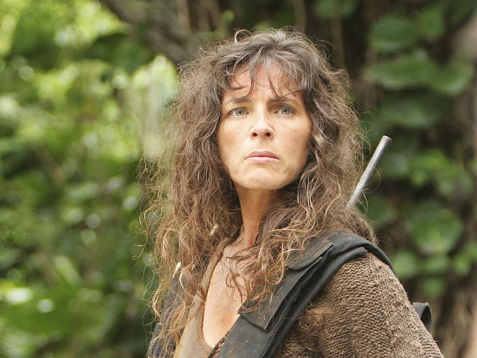 Mira Furlan as Danielle Rosseau on the hit series Lost (Touchstone/Abc/Kobal/REX)
