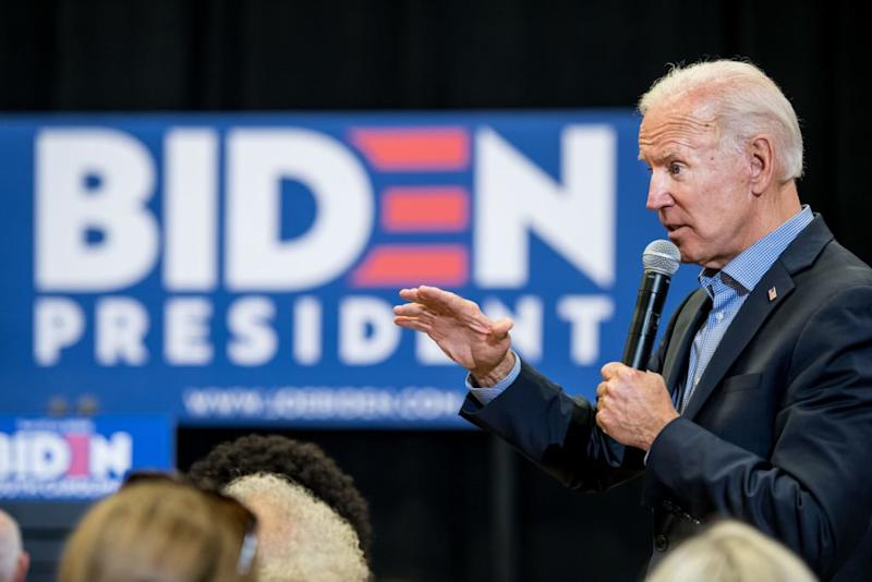 Joe Biden's Campaign Downplays Expectations for Iowa and New Hampshire