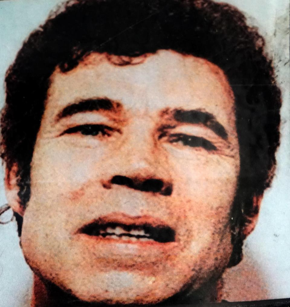 Photograph of Fred West. Frederick Walter Stephen West (1941-1995) an English serial killer who, along with his wife Rosemary West (1953-), committed at least 12 murders between 1967 and 1987. (Photo by: Universal History Archive/ Universal Images Group via Getty Images)