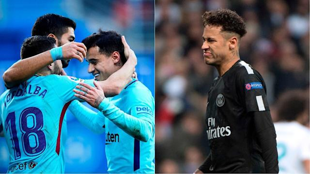 The German goalkeeper has hailed the signings of Philippe Coutinho and Ousmane Dembele but also had words of praise for the PSG forward