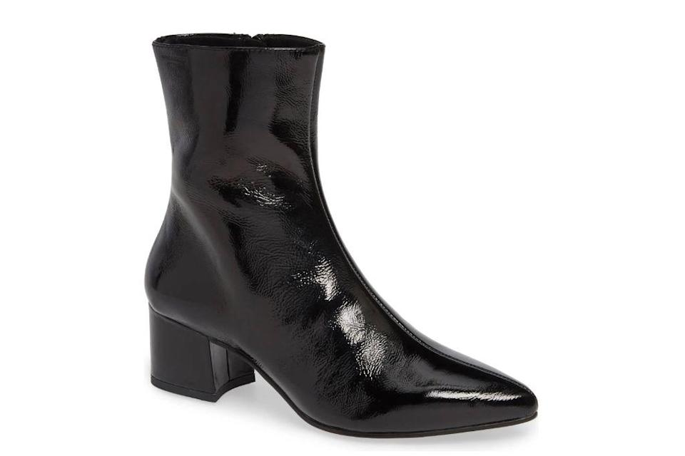 Vagabond Shoemakers, Mya Pointy Toe Booties, Black Booties