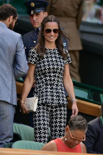 Pippa Middleton: famously the bridesmaid, now the bride