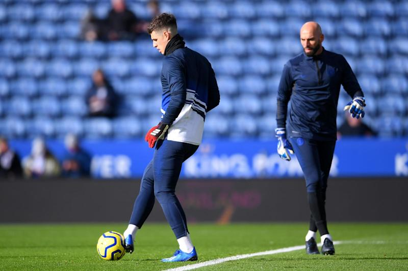 Kepa has been replaced by Willy Caballero in recent weeks: Getty Images