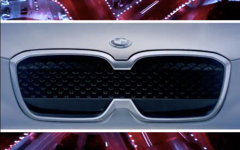 BMW releases a teaser for the iX3, its first all-electric SUV