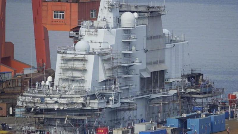 China's Liaoning aircraft carrier gets brand new command centre
