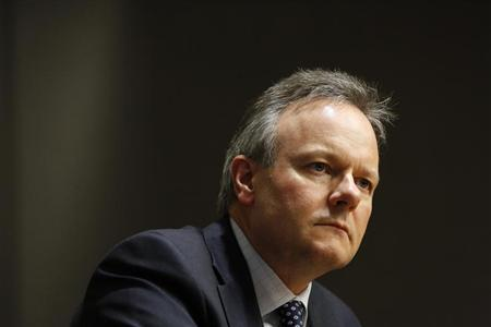 Bank of Canada Governor Poloz takes part in an interview with Reuters in Ottawa