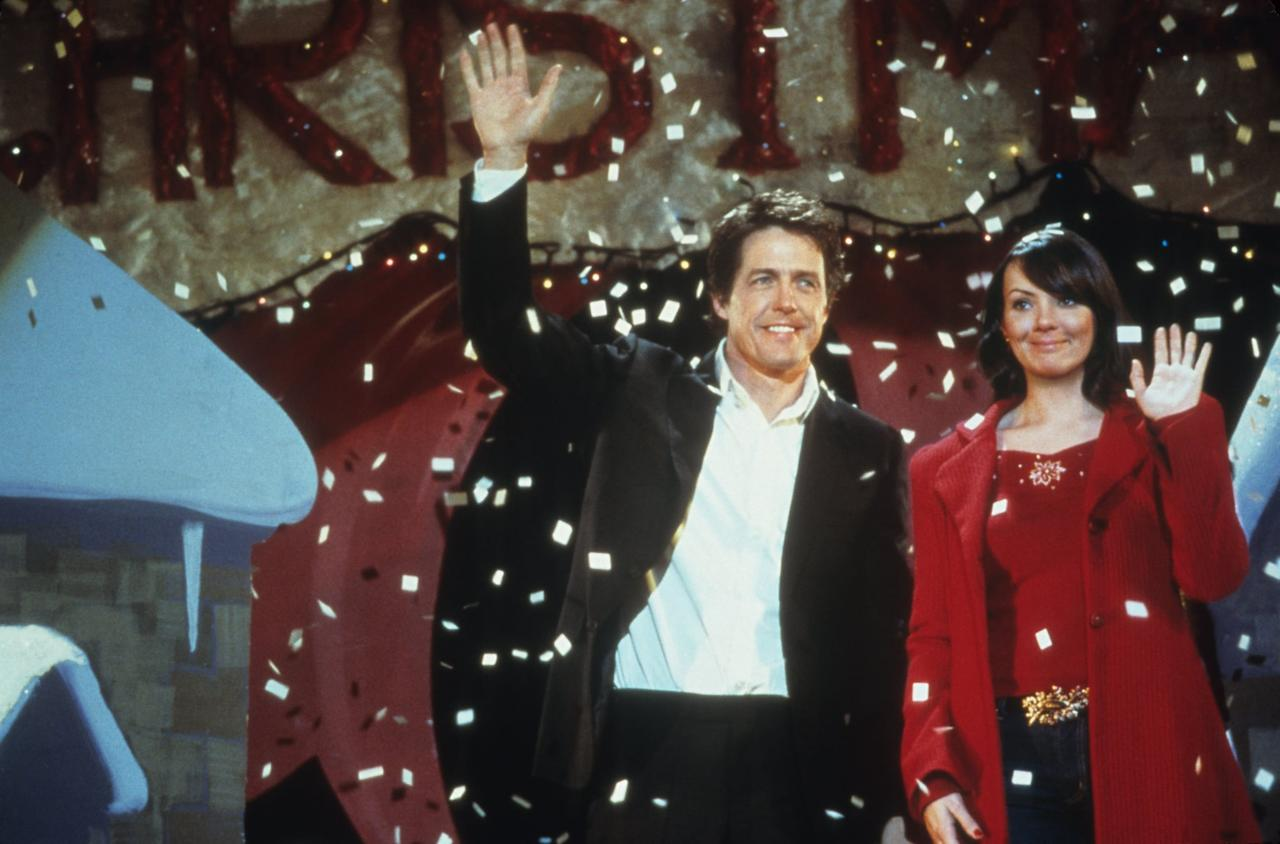 """<p>Again, the haters can say what they want, but <strong>Love Actually</strong> - which follows 10 intertwined stories in the five weeks leading up to Christmas - is a holiday tale for the ages. The cast of this rom-com includes <a class=""""sugar-inline-link ga-track"""" title=""""Latest photos and news for Alan Rickman"""" href=""""https://www.popsugar.com/Alan-Rickman"""" target=""""_blank"""" data-ga-category=""""Related"""" data-ga-label=""""https://www.popsugar.com/Alan-Rickman"""" data-ga-action=""""&lt;-related-&gt; Links"""">Alan Rickman</a>, <a class=""""sugar-inline-link ga-track"""" title=""""Latest photos and news for Emma Thompson"""" href=""""https://www.popsugar.com/Emma-Thompson"""" target=""""_blank"""" data-ga-category=""""Related"""" data-ga-label=""""https://www.popsugar.com/Emma-Thompson"""" data-ga-action=""""&lt;-related-&gt; Links"""">Emma Thompson</a>, <a class=""""sugar-inline-link ga-track"""" title=""""Latest photos and news for Hugh Grant"""" href=""""https://www.popsugar.com/Hugh-Grant"""" target=""""_blank"""" data-ga-category=""""Related"""" data-ga-label=""""https://www.popsugar.com/Hugh-Grant"""" data-ga-action=""""&lt;-related-&gt; Links"""">Hugh Grant</a>, <a class=""""sugar-inline-link ga-track"""" title=""""Latest photos and news for Keira Knightley"""" href=""""https://www.popsugar.com/Keira-Knightley"""" target=""""_blank"""" data-ga-category=""""Related"""" data-ga-label=""""https://www.popsugar.com/Keira-Knightley"""" data-ga-action=""""&lt;-related-&gt; Links"""">Keira Knightley</a>, <a class=""""sugar-inline-link ga-track"""" title=""""Latest photos and news for Colin Firth"""" href=""""https://www.popsugar.com/Colin-Firth"""" target=""""_blank"""" data-ga-category=""""Related"""" data-ga-label=""""https://www.popsugar.com/Colin-Firth"""" data-ga-action=""""&lt;-related-&gt; Links"""">Colin Firth</a>, Liam Neeson, Bill Nighy, and basically every British actor you know as they lose love, find love, and totally win over your heart. </p>"""