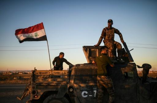 Iraq forces ready for push into streets of Mosul