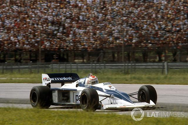 "1983: 15 gare - campione: Nelson Piquet <span class=""copyright"">LAT Images</span>"