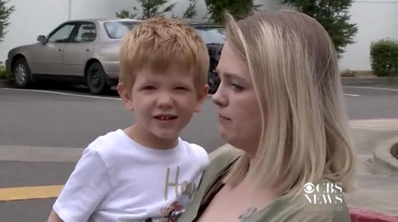 Washington Mom Says 2 Imposter CPS Workers Tried to 'Snatch' Young Son, Citing Fake Injuries