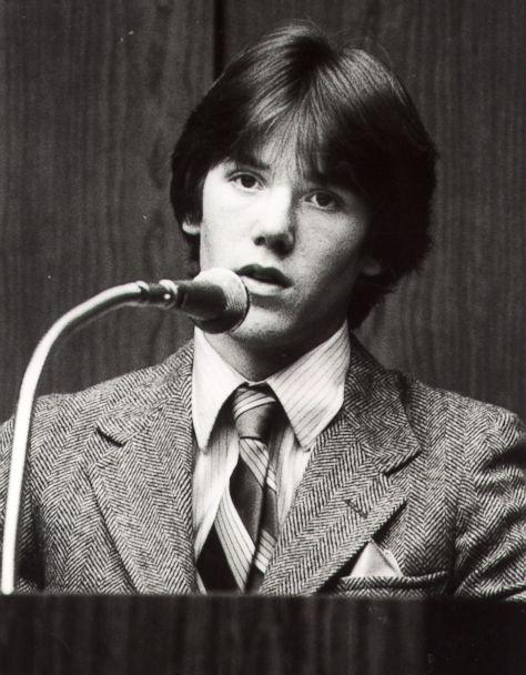 PHOTO: Steven Stayner testifies about his abduction in 1972 by Kenneth Parnell and his seven years in captivity in this 1981 photo. (AP)