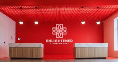 Enlightened™ – Cannabis for People storefront.