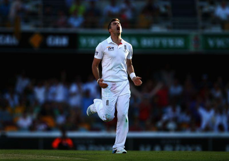 James Anderson is almost unplayable when the ball swings.