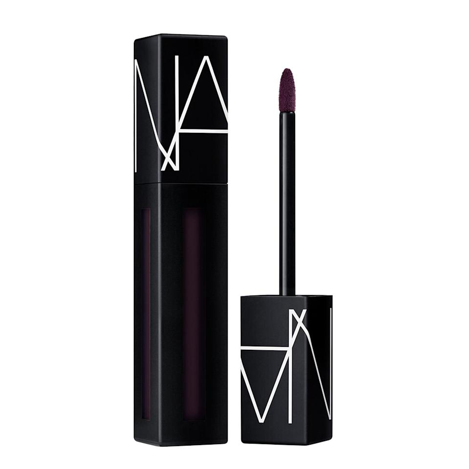 "<p><span>Nars Powermatte Lip Pigment in Wild Night</span> ($26) is a gorgeous deep purple that can look brighter or deeper depending on your underlying natural lip tone,"" said makeup artist <a href=""https://www.instagram.com/danielmartin/?hl=en"" class=""link rapid-noclick-resp"" rel=""nofollow noopener"" target=""_blank"" data-ylk=""slk:Daniel Martin"">Daniel Martin</a>, the man responsible for <a href=""https://www.popsugar.com/beauty/Meghan-Markle-Wedding-Makeup-44777090"" class=""link rapid-noclick-resp"" rel=""nofollow noopener"" target=""_blank"" data-ylk=""slk:Meghan Markle's ultra-pretty wedding-day makeup"">Meghan Markle's ultra-pretty wedding-day makeup</a>. ""It's great as a stain underneath your face mask. A tip to help mask transfer from your lipsticks (especially liquid lipsticks): blot with blotting papers before you put your mask on.""</p>"