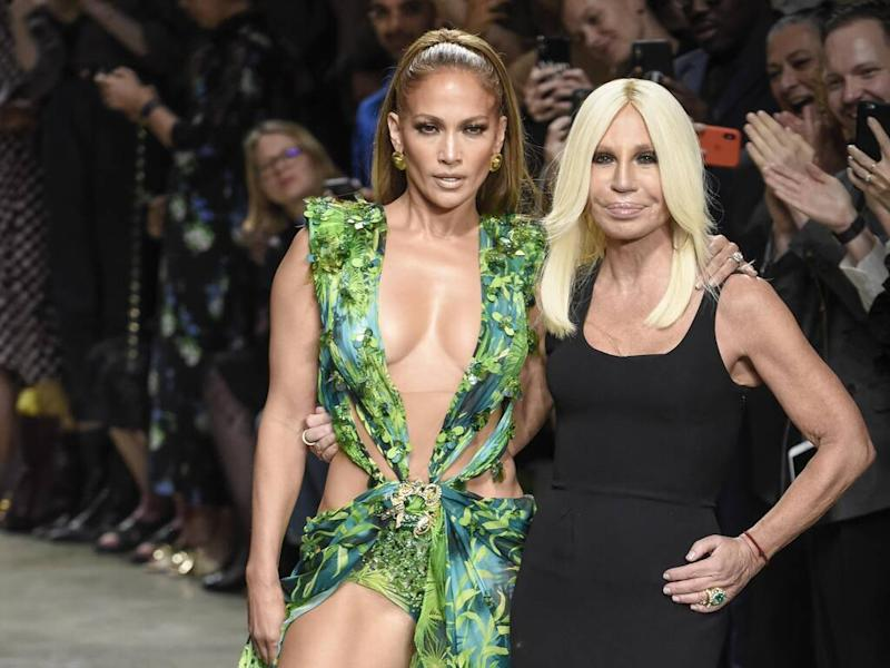 Donatella Versace thrilled to create Jennifer Lopez's Super Bowl Halftime Show outfits