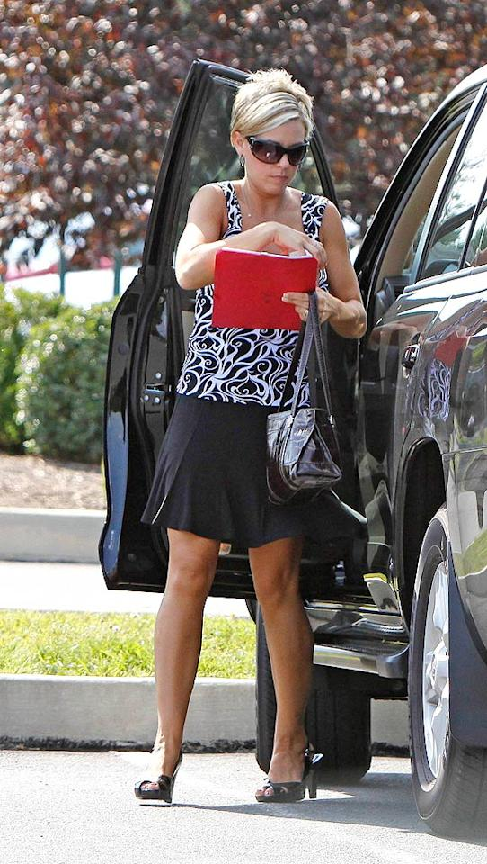 "Jon and Kate Gosselin took a vow of media silence this week, but that didn't keep them out of the headlines. First Kate's cookbook, originally due in November, got delayed, and then her clothing line was put ""on hold"" -- much like her reality show. <a href=""http://www.infdaily.com"" target=""new"">INFDaily.com</a> - June 29, 2009"