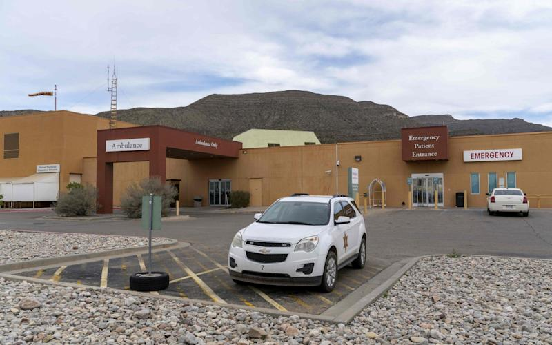 Gerald Champion Regional Medical Centre in Alamogordo, New Mexico, where Customs and Border Protection reported the death of an eight-year-old migrant from Guatemala - AFP