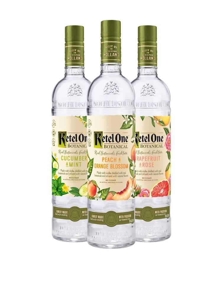 """<p><strong>Ketel One</strong></p><p>reservebar.com</p><p><strong>$39.00</strong></p><p><a href=""""https://go.redirectingat.com?id=74968X1596630&url=https%3A%2F%2Fwww.reservebar.com%2Fproducts%2Fketel-one-botanical-peach-and-orange-blossom&sref=http%3A%2F%2Fwww.townandcountrymag.com%2Fleisure%2Fdrinks%2Fg28413280%2Fweekly-covet-july-19-2019%2F"""" target=""""_blank"""">Shop Now</a></p><p>""""I have far too many favorite <a href=""""https://www.townandcountrymag.com/leisure/drinks/a28038741/best-drink-summer-2019/"""" target=""""_blank"""">summer cocktails</a> to count, but for something simple, delicious, and relatively low-cal, I mix this <a href=""""https://www.townandcountrymag.com/leisure/drinks/g3077/vodka-cocktails/"""" target=""""_blank"""">botanical-infused vodka</a> with club soda. It gives the drink a fresh, summery fruit flavor without sweetener (think La Croix, but boozy) and it's thrist-quenching to boot.""""—<em>Lauren Hubbard, Contributor</em></p>"""