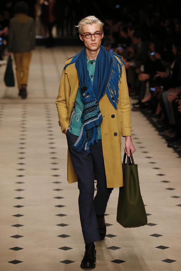 Burberry Prorsum on the final day of the Autumn/Winter 2015 London Collections: Men