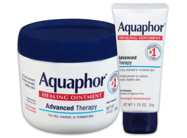 Aquaphor Healing Ointment - Moisturizing Skin Protectant For Dry Cracked Hands, Heels and Elbows/amazon.com.mx
