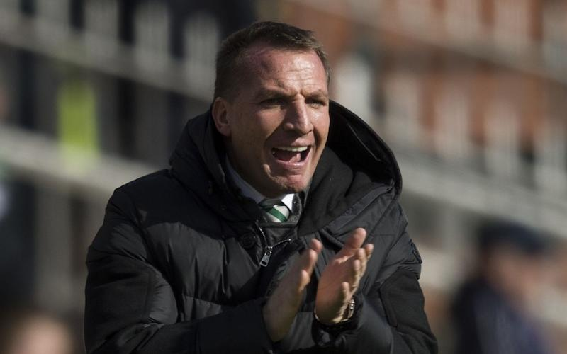 Rodgers says he is proud that Celtic had so many players in the Scotland squad - Copyright (c) 2017 Rex Features. No use without permission.