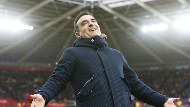 Carlos Carvalhal hailed Swansea City's continued revival after Saturday's win over Burnley, which lifted them to 15th in the Premier League.