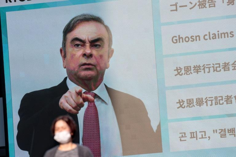 Carlos Ghosn fled Japan for Lebanon, leaving his lawyer Junichiro Hironaka 'dumbfounded' (AFP Photo/Behrouz MEHRI)