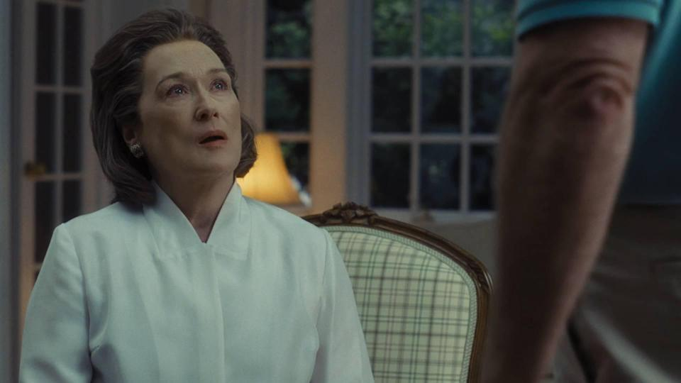 <span><br>It's a far more open race in the Best Actress section – our money's on Meryl.</span>