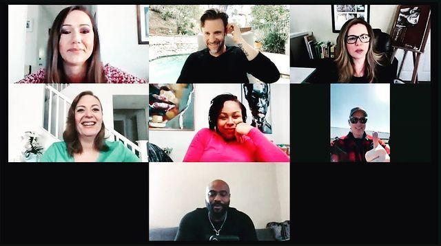 """<p>The beloved crew from Beantown came together again on April 20, 23 years after their 1997 season ended. Castmates Jason Cornwell, Montana McGlynn, Sean Duffy, Kameelah Phillips, Genesis Moss, Elka Walker and Syrus Yarbrough caught up on Zoom in a meeting documented on Cornwell's Instagram. """"love my people....all so different, all still connected..... xoxoxo"""" he wrote alongside a screenshot. </p>"""
