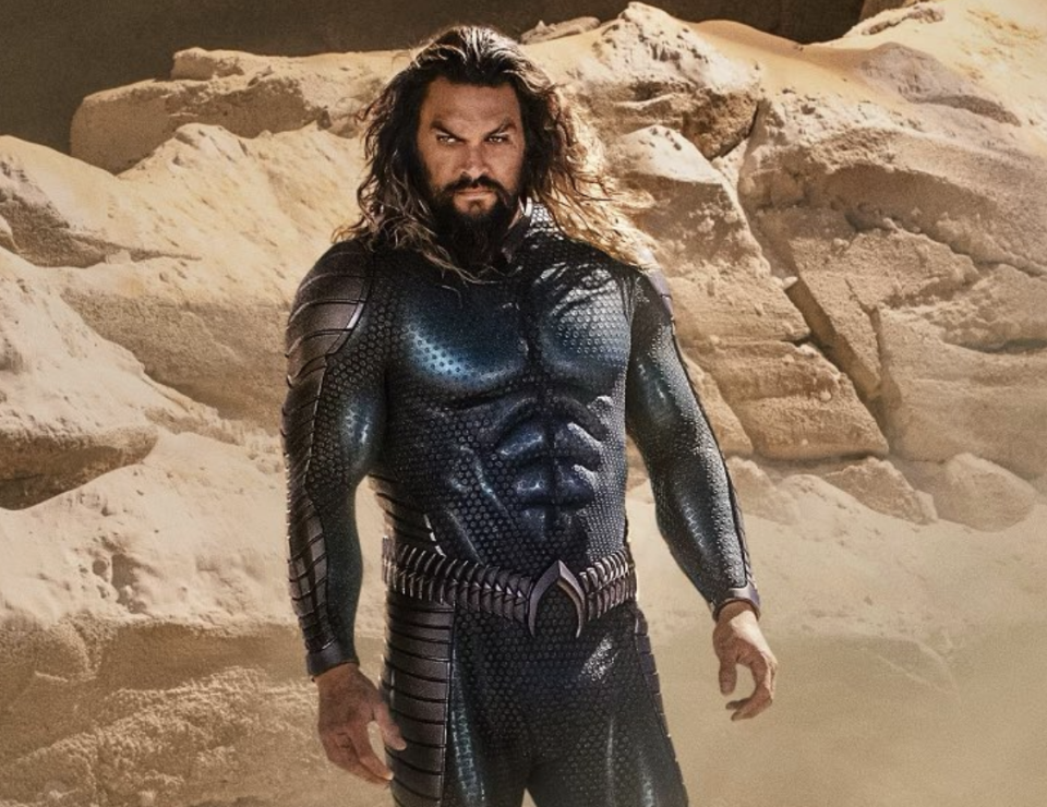Momoa's new look for the sequel. (Photo: Jason Momoa/Instagram)
