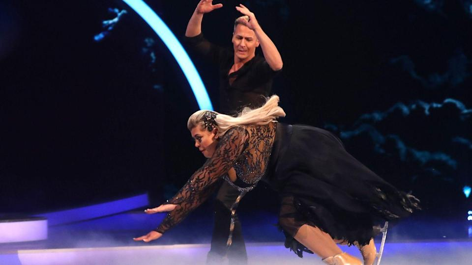 Christopher Dean says Gemma Collins' fall on 'Dancing On Ice' 'wasn't deliberate'