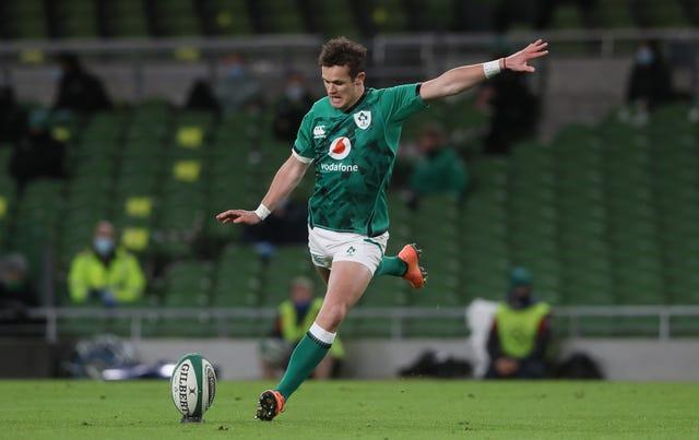 Fly-half Billy Burns will replace injured Ireland captain Johnny Sexton against France