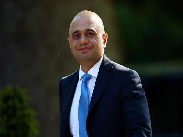 Former British Chancellor of the Exchequer Sajid Javid
