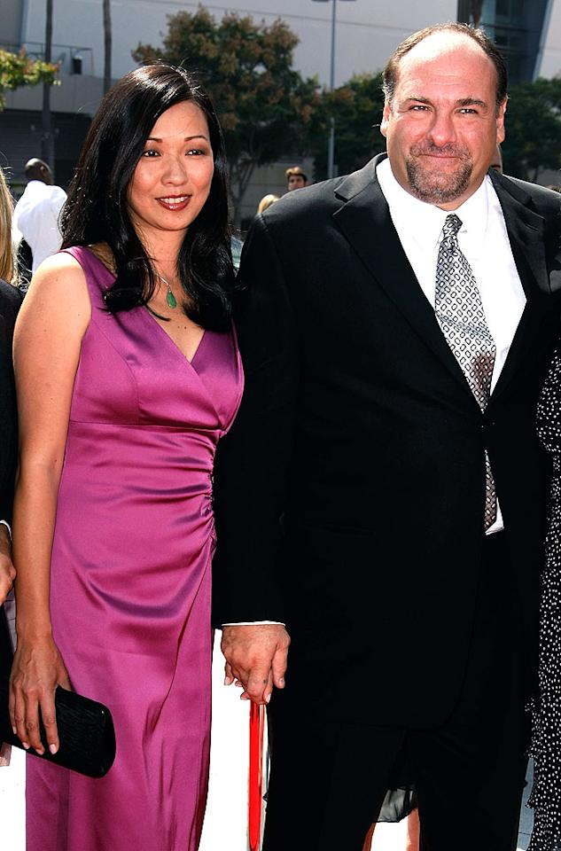 "Deborah Lin wed ""Sopranos"" star James Gandolfini in her native Hawaii on August 30, 2008. Talk about being married to the mob! Michael Buckner/<a href=""http://www.gettyimages.com/"" target=""new"">GettyImages.com</a> - September 13, 2008"