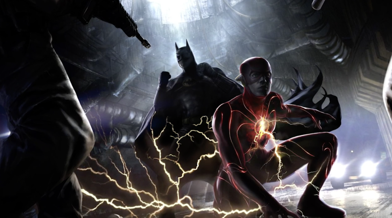 DC Fandome unveils Flashpoint concept art featuring Michael Keaton's Batman