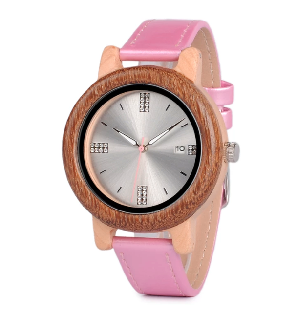 Bamboo Watches Nicole - Wooden Watch - Personalised Option - $119
