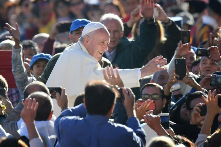 Pope Francis said last month he was 'not afraid' of a church schism