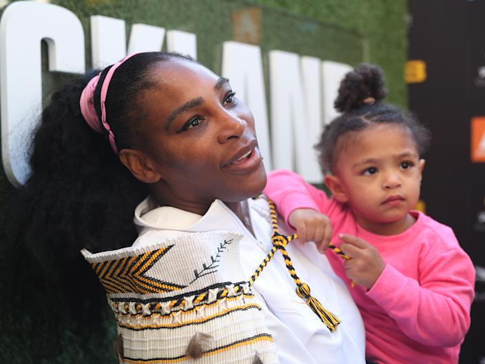 Williams has said she's happy to indulge her daughter's love for all things Disney.